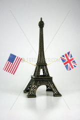 Eiffelturm Modell