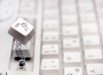 Computer-Tastatur Hilfetaste