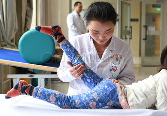 CHINA-XINJIANG-FOREIGN PATIENT-TRADITIONAL CHINESE MEDICINE (CN)