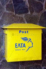 Postkaesten in Griechenland