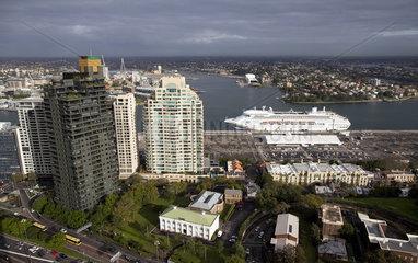 View of Sydney  Australia  01.06.2011