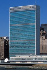 Usa  New York City United Nations building