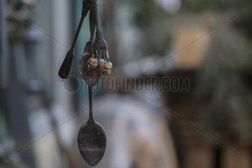 Dekoratives Objekt in einer Schmiede