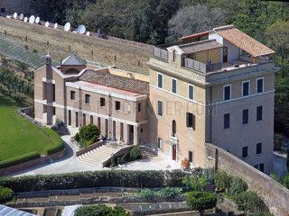 Papst Benedikt neue Wohnung