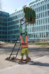 Berlin - YAAM Basketballkorb