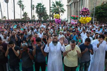 EGYPT-ALEXANDRIA-EID AL-FITR-PRAYERS