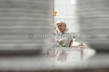 Bewohner im Altenheim