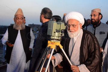 PAKISTAN-LAHORE-EID AL FITR-NEW MOON-OBSERVATION