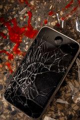 beschaedigtes Handy
