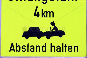 Verkehrszeichen Unfaelle