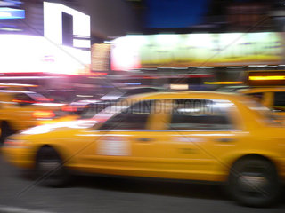Stadtverkehr Taxis New York