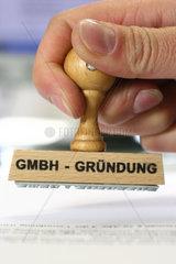 Stempel GmbH-Gruendung