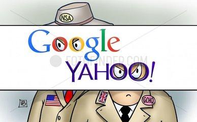 Google Yahoo NSA