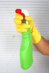 Putzmittel  Spruehflasche
