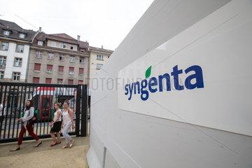 SWITZERLAND-BASEL-CHEMCHINA-SYNGENTA
