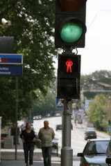 Russland  Moskau  Verkehr