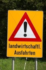 Landwirtschaftliche Ausfahrt