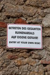 Eigene Gefahr