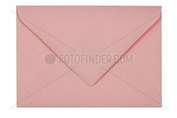 Leerer unbeschrifteter Briefumschlag aus Papier