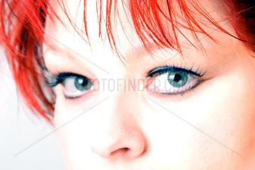 Augen einer Frau