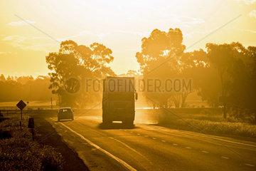 Verkehr im Outback