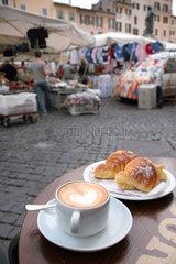 Rom  Italien  Campo de Fiori