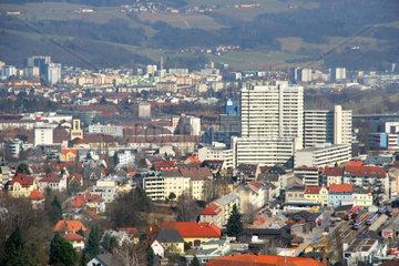 Oesterreich  Oberoesterreich  Linz  Urfahr mit Donau