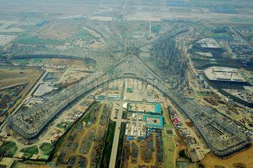 CHINA-BEIJING-NEW AIRPORT-STEEL RACK(CN)