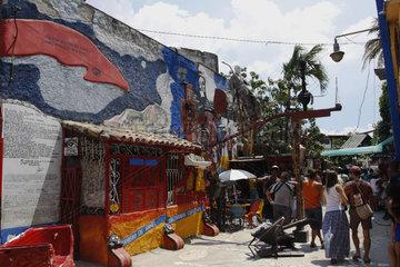 Callejón de Hamel  Afrocubanische Kultur im Havanna