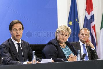 Rutte + Solberg + Tusk