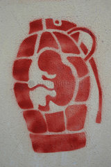 Handgranate Gebaermutter
