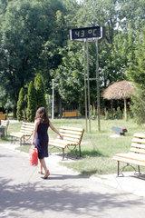 ROMANIA-BUCHAREST-HIGH TEMPERATURE