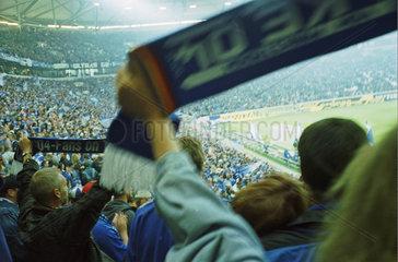 Schalke Veltins Arena  Gelsenkirchen  Nordkurve