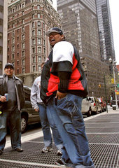 Strassenszene Manhattan New York City