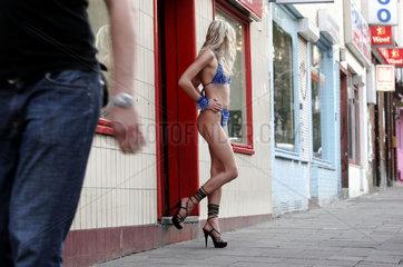 Prostituierte auf dem Kiez St.Pauli