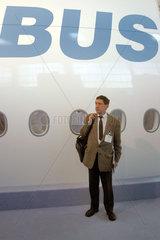 Messe Aircraft Interiors Hamburg - A380