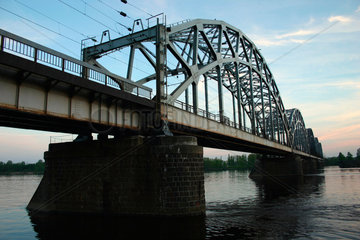 Bruecke ueber der Daugava