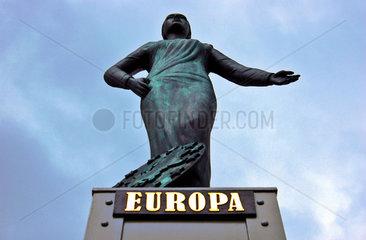 Statue der griechischen Goettin Europa