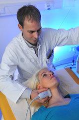 Ultraschalluntersuchung der Halsschlagader