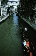Gondolieri in Venedig