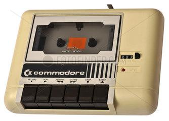 Datassette  Datenspeicher fuer Commodore Heimcomputer  1983