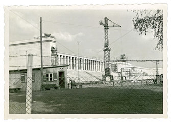 Baustelle Reichsparteitagsgelaende Nuernberg  1937