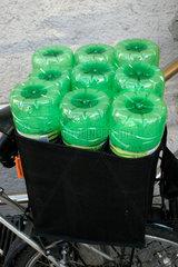 Gruene Pfandflasche