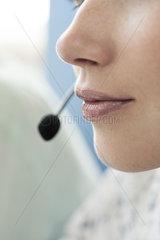 Call center operators deliver customer service