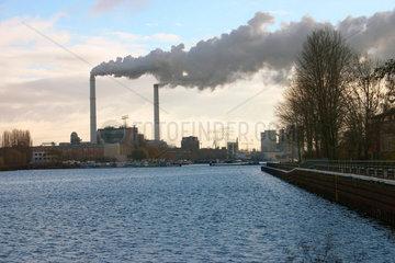 Vattenfall Kohlekraftwerk in Lichtenberg