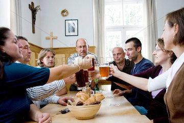 Biertrinkerrunde