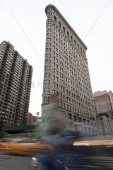 Flatiron Building  New York City  New York  USA