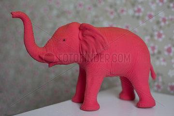 Toy elephant figure
