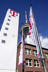 Telekom Gebaeude  Fernsehturm