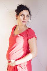Pregnant woman  portrait